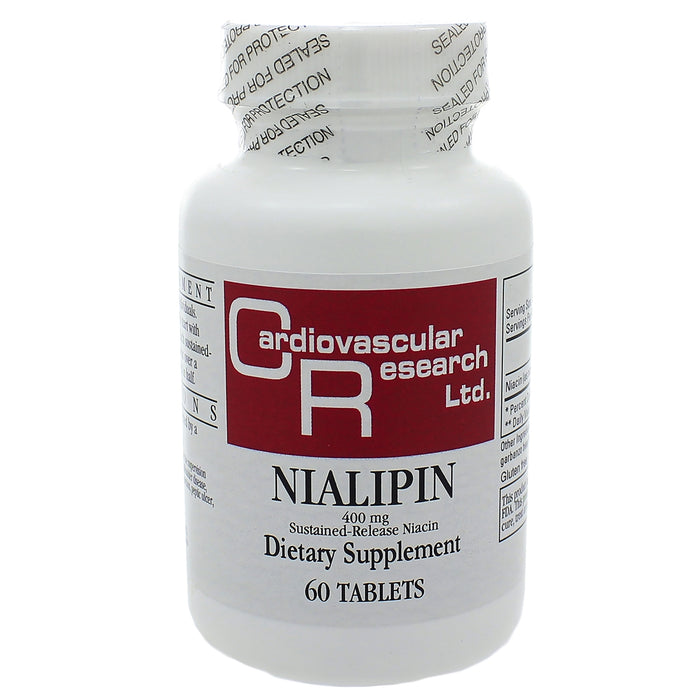 Nialipin 400mg Time Release 60 tablets by Ecological Formulas