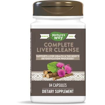 Complete Liver Cleanse 84 capsules by Enzymatic Therapy