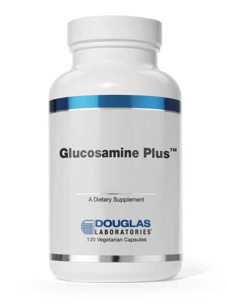 Glucosamine Plus 120 vegetarian capsules by Douglas Laboratories