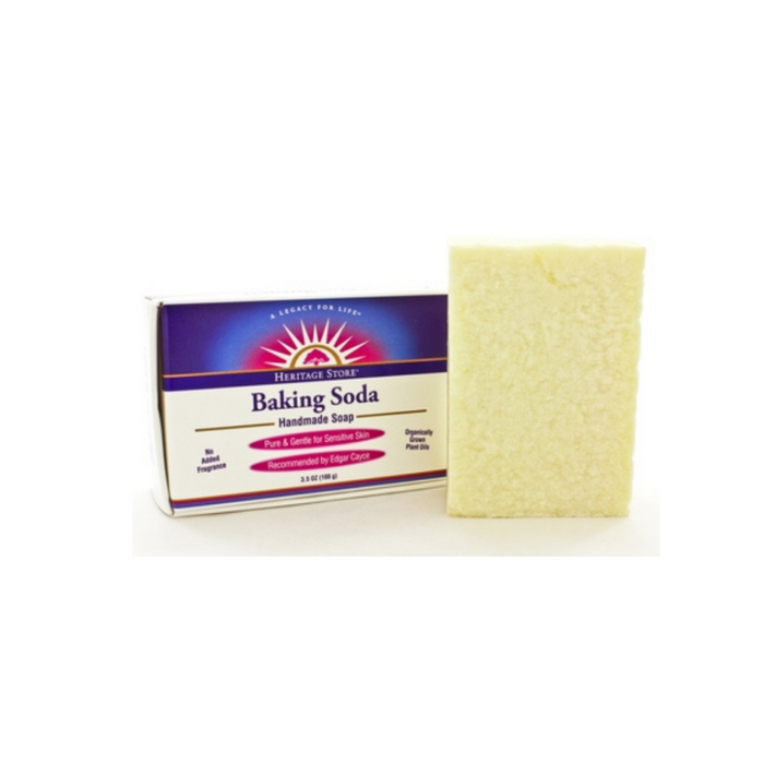 Baking Soda Soap  3.5 Ounces by Heritage