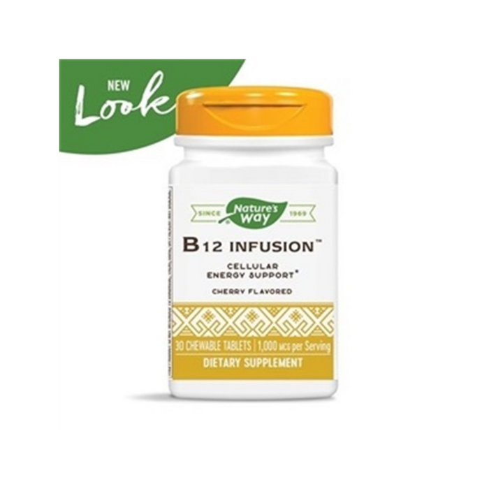 B12 Infusion 30 Chewables by Nature's Way