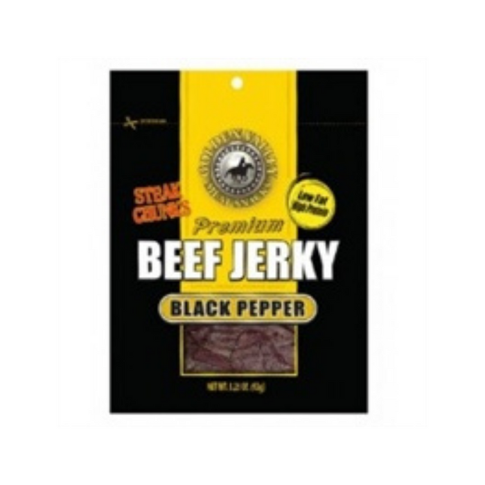 Beef Peppered 3.25oz by Golden Valley Jerky