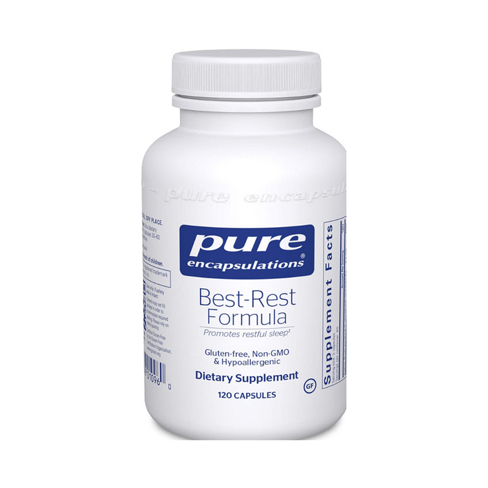 Best-Rest Formula 120 vegetarian capsules by Pure Encapsulations
