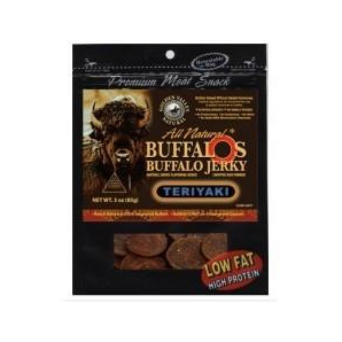 Buffalo Teriyaki 3oz by Golden Valley Jerky