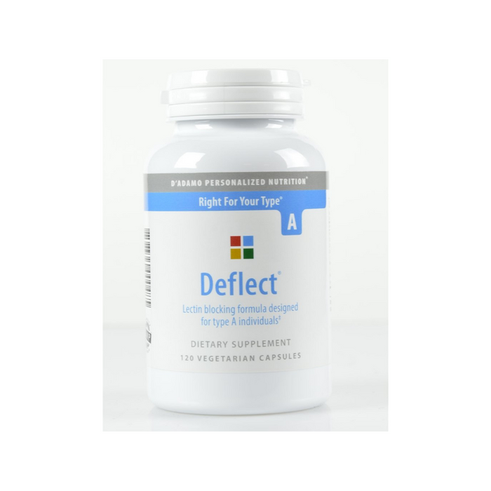 Deflect A 120 vegetarian capsules by D'Adamo Personalized Nutrition