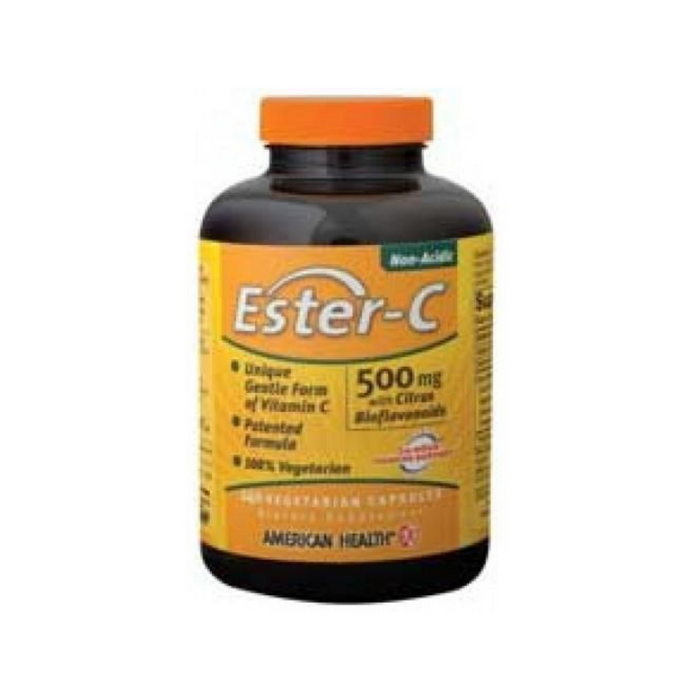 Ester-C with Bioflavonoids 500mg 240 Vegecaps by American Health