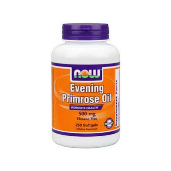 Evening Primrose Oil 500 mg 250 softgels by NOW Foods