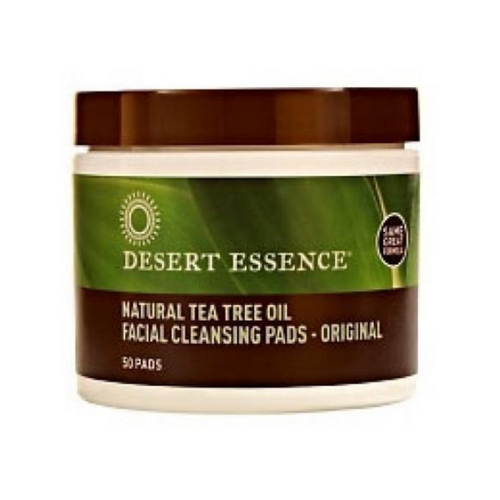 Facial Cleansing Pads 50 Pads by Desert Essence