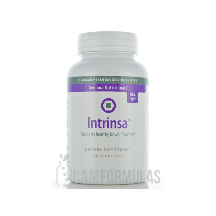Intrinsa 120 vegetarian capsules by D'Adamo Personalized Nutrition
