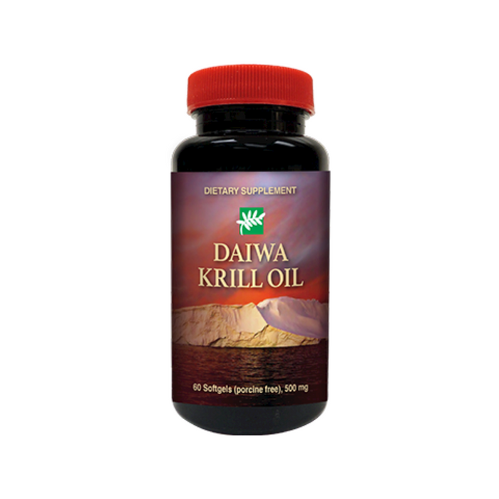 Krill Oil 60 softgels by Daiwa Health Development