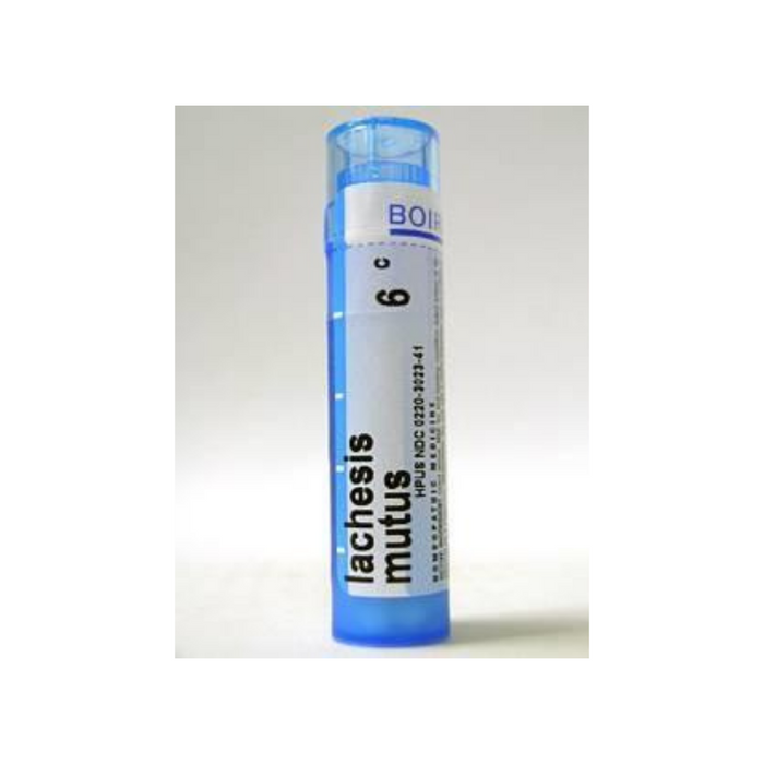 Lachesis mutus 6C 80 Pellets by Boiron