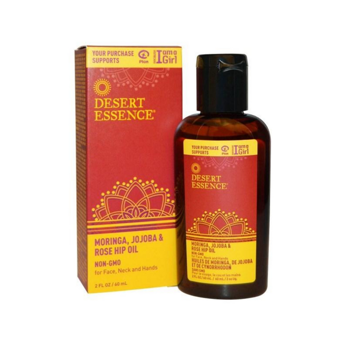 Moringa Jojoba & Rosehp Oil 2 Oz by Desert Essence
