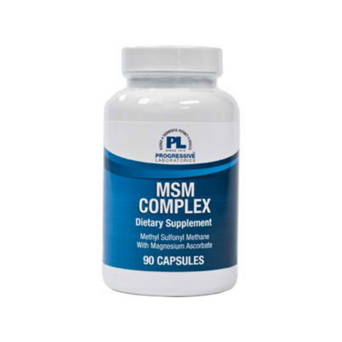 MSM Plus 90 capsules by Progressive Labs