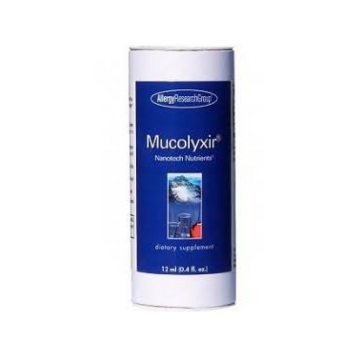 Mucolyxir Nanotech Nutrients 12 ml by Allergy Research Group