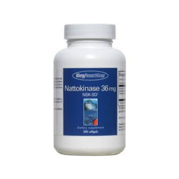 Nattokinase NSK-SD 36 mg 300 softgels by Allergy Research Group
