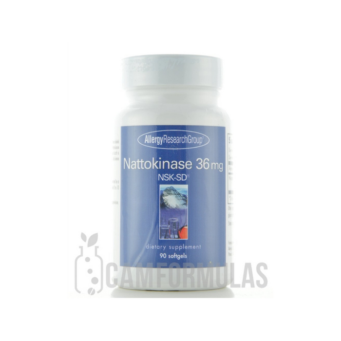 Nattokinase NSK-SD 36 mg 90 softgels by Allergy Research Group