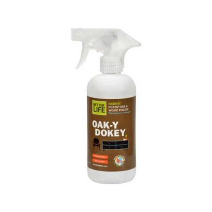 Natural Wood Cleaner & Polish Oak-y-Dokey 16 oz by Better Life