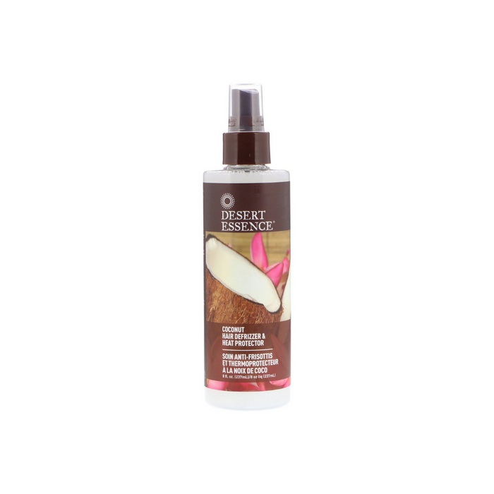 Coconut Hair Defrizzer & Heat Protector 8.5 Oz by Desert Essence