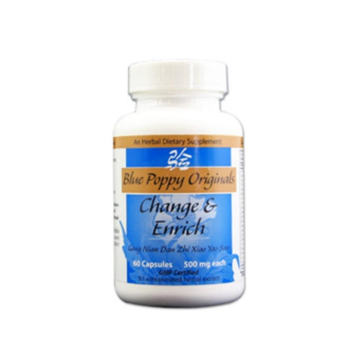 Change and Enrich 60 capsules by Blue Poppy Originals