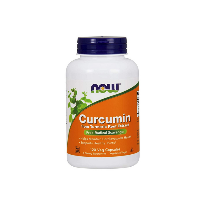 Curcumin 120 vegetarian capsules by NOW Foods