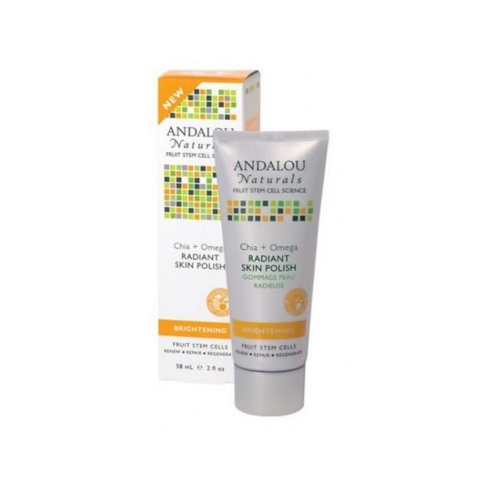 Brightening Chia + Omega Radiant Scrub 2oz by Andalou Naturals
