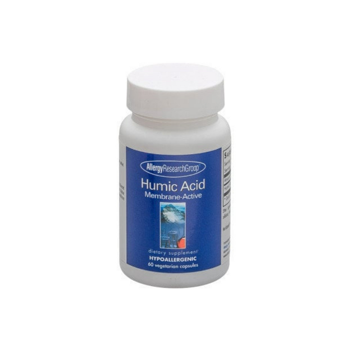 Humic Acid Membrane Active 60 vegetarian capsules by Allergy Research Group