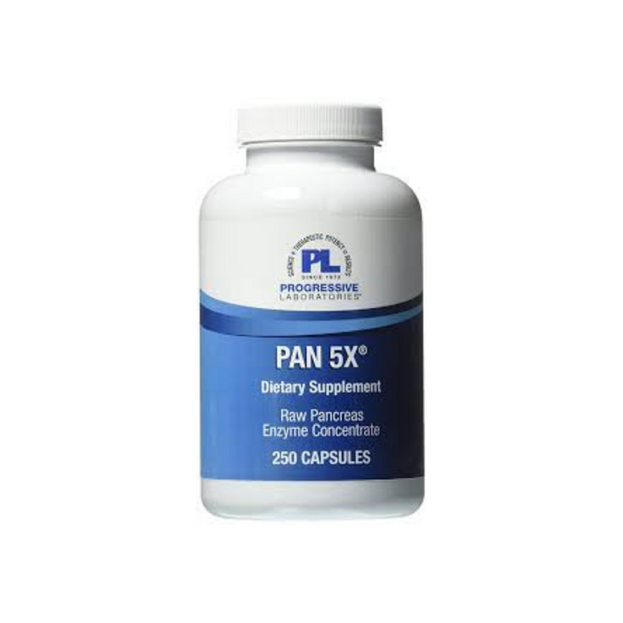 Pan 5X 250 capsules by Progressive Labs