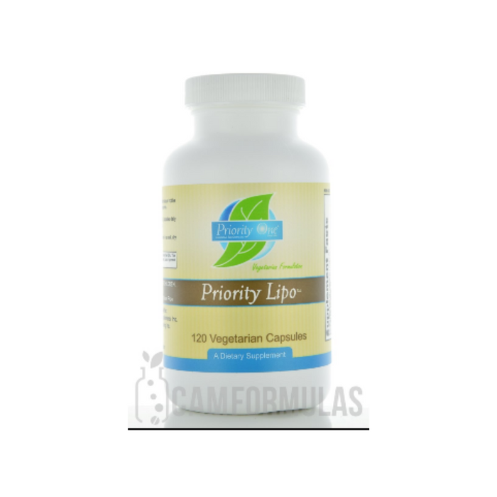 Priority Lipo 120 vegetarian capsules by Priority One