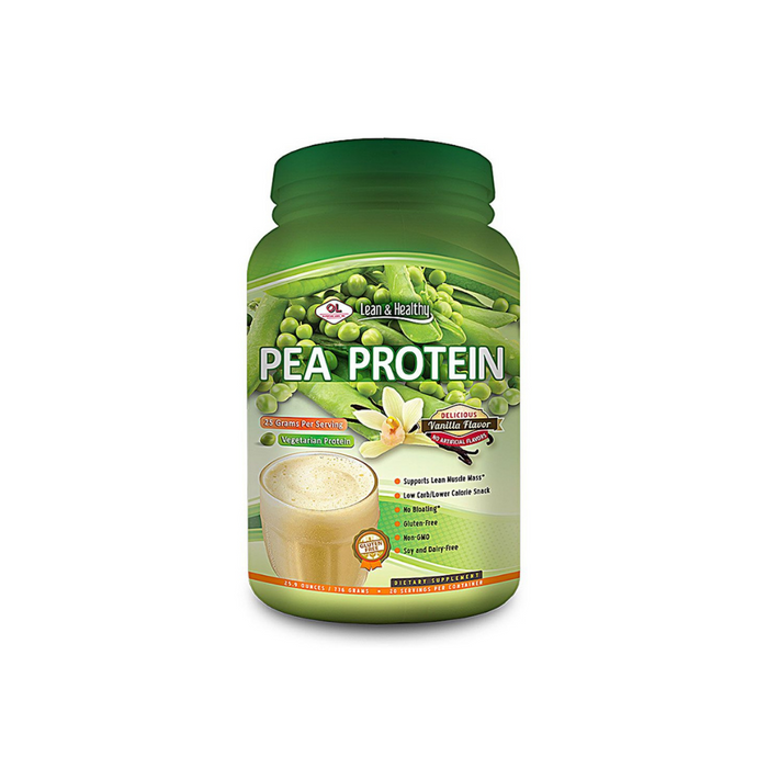 Pea Protein Vanilla 736 Gram by Olympian Labs