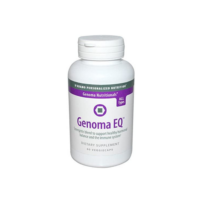 Genoma EQ 60 vegetarian capsules by D'Adamo Personalized Nutrition