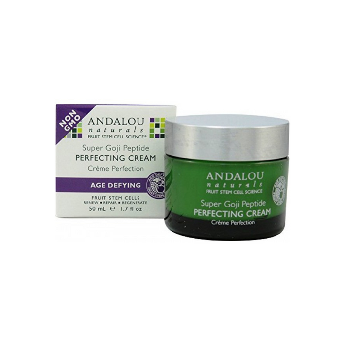 Age Defy Super Goji Peptide Perfecting Cream 1.7oz by Andalou Naturals