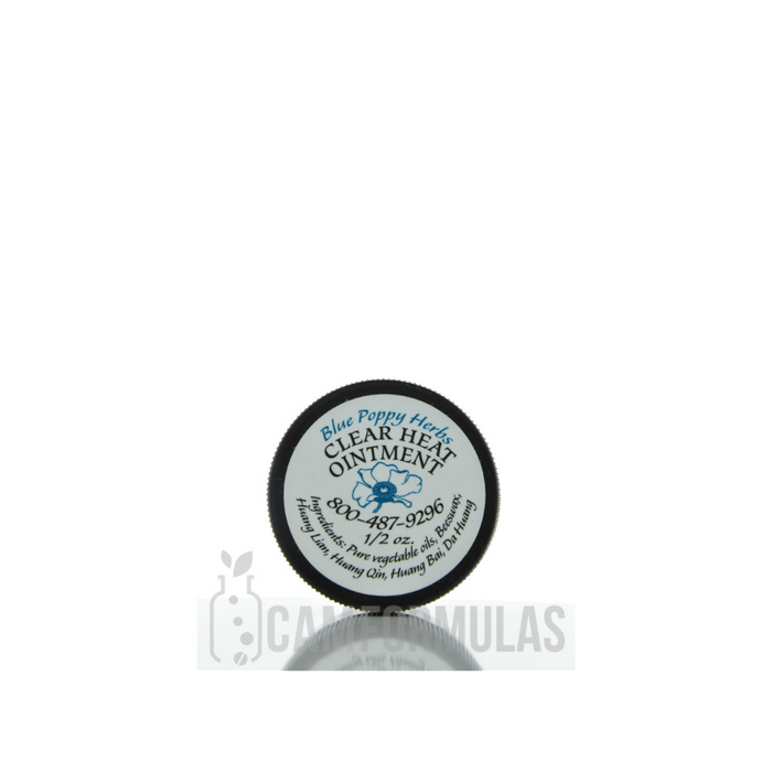 Clear Heat Ointment 1-2 oz by Blue Poppy Originals