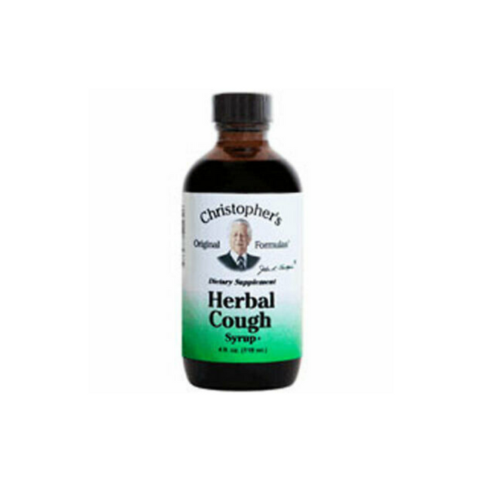 Heal Herbal Cough Syrup 4 oz by Christopher's Original Formulas
