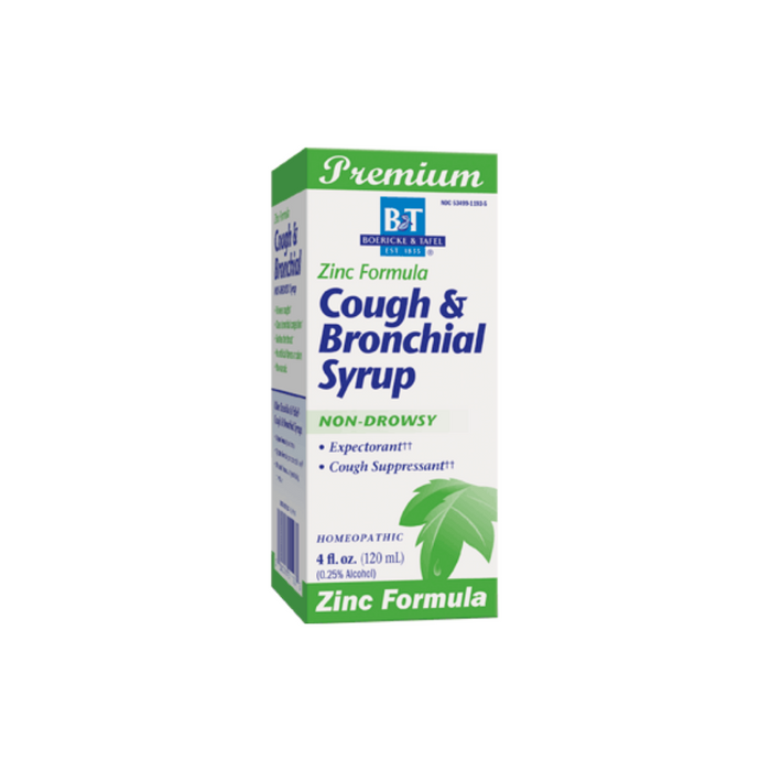 Cough & Bronchial Syrup with Zinc 4 oz by Boericke & Tafel