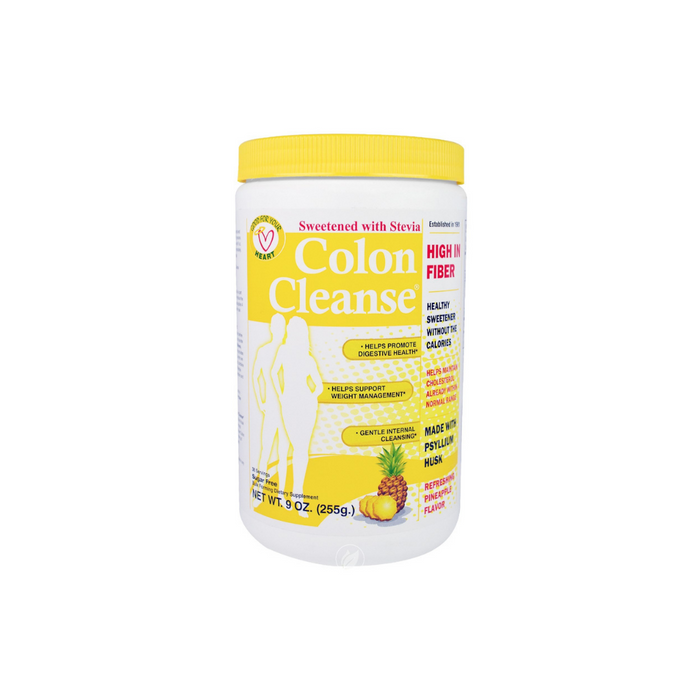 Colon Cleanse All Natural Sweetener Pineapple-Stevia Powder 9 oz by Health Plus