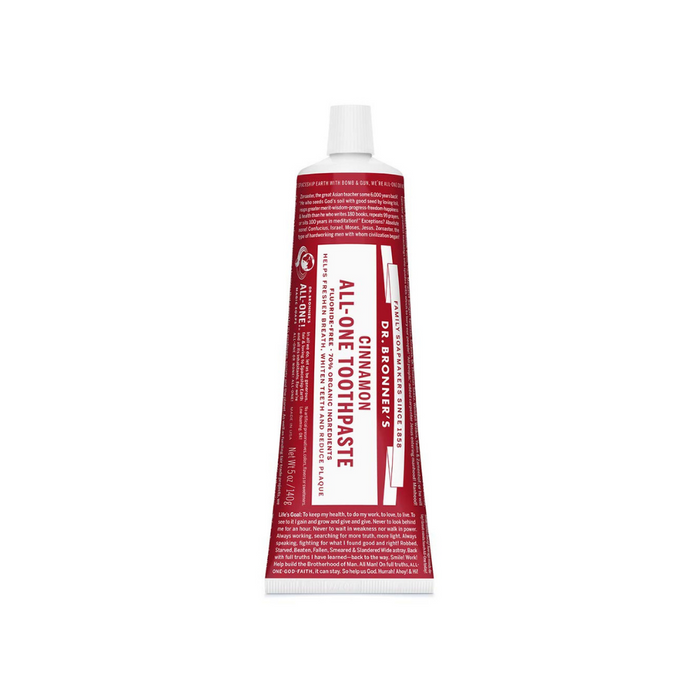 All-One Toothpaste Cinnamon 5 oz by Dr. Bronner's Magic Soaps