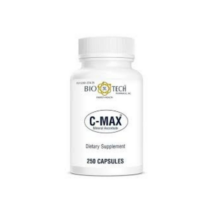 C-Max 1000 mg 250 capsules by BioTech Pharmacal