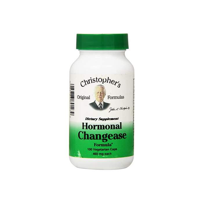 Heal Hormonal Changease 100 Vegetarian Capsules by Christopher's Original Formulas