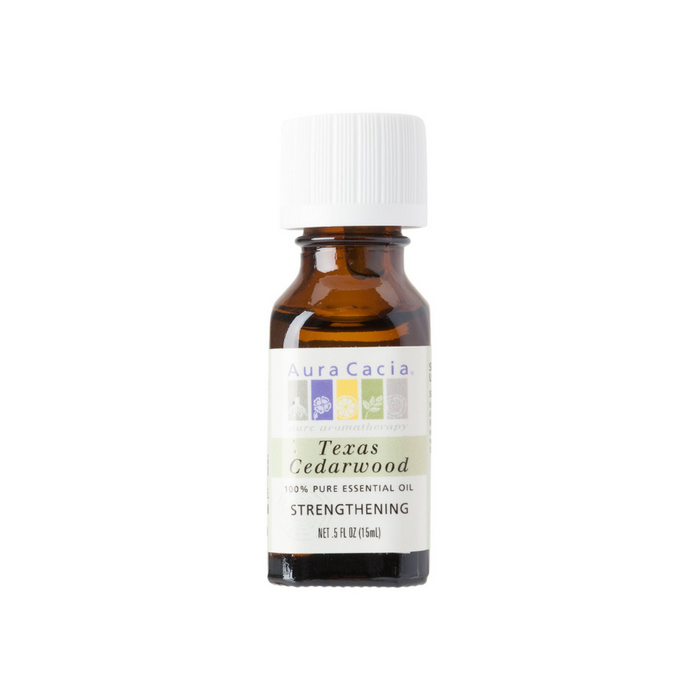 Cedarwood Texas Essential Oil .5oz by Aura Cacia