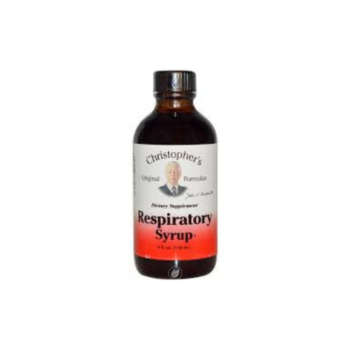 Cleanse Syrup Respiratory Relief 4 oz by Christopher's Original Formulas