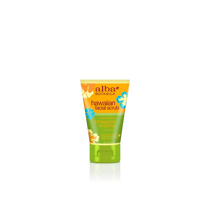 Hawaiian Pineapple Enzyme Face Scrub 4oz by Alba Botanica