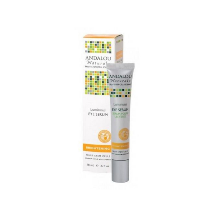 Brightening Luminous Eye Serum .6oz by Andalou Naturals