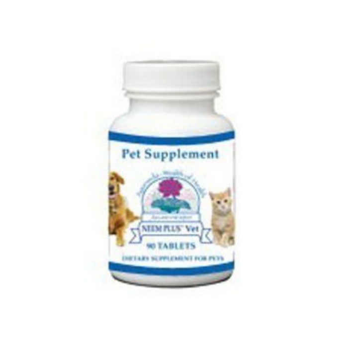 Neem Plus Vet 90 tablets by Ayush Herbs