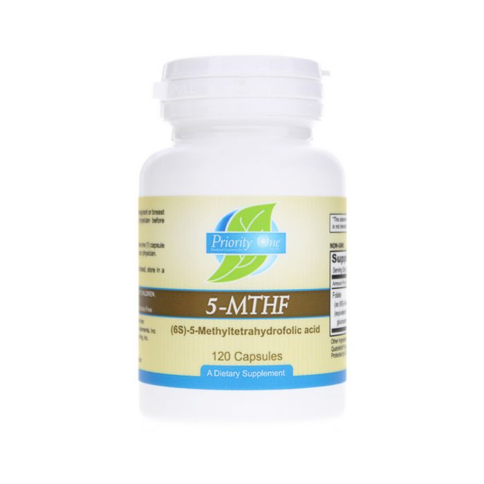 5 MTHF 120 capsules by Priority One