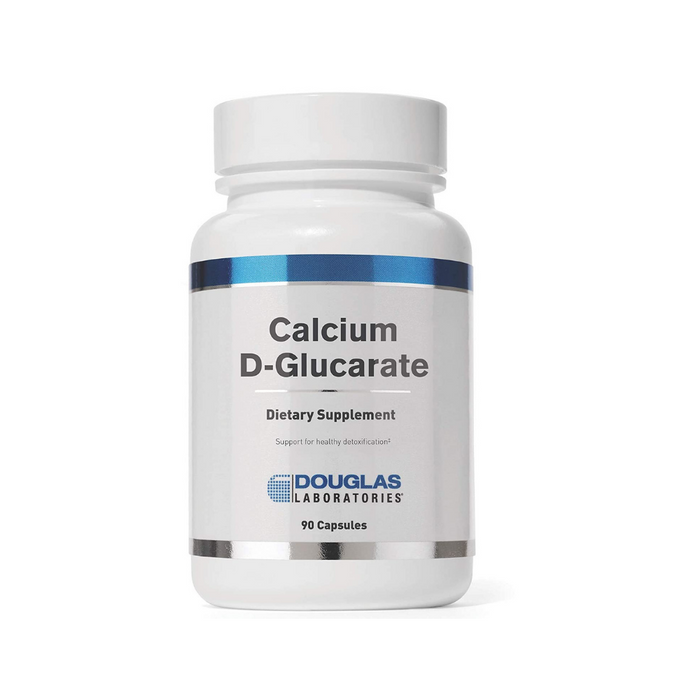 Calcium D-Glucarate 500 mg 90 capsules by Douglas Laboratories