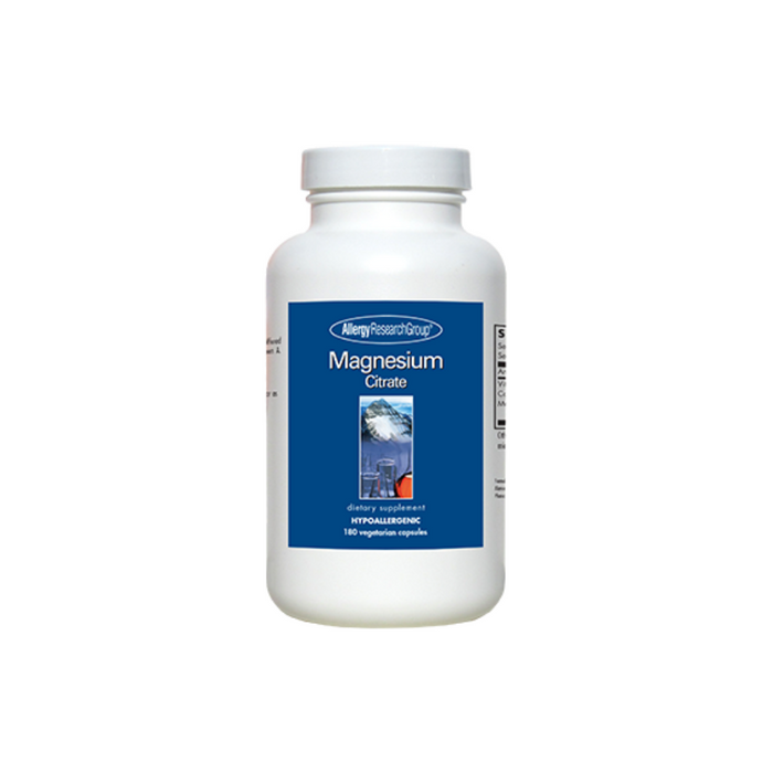 Magnesium Citrate 180 vegetarian capsules by Allergy Research Group