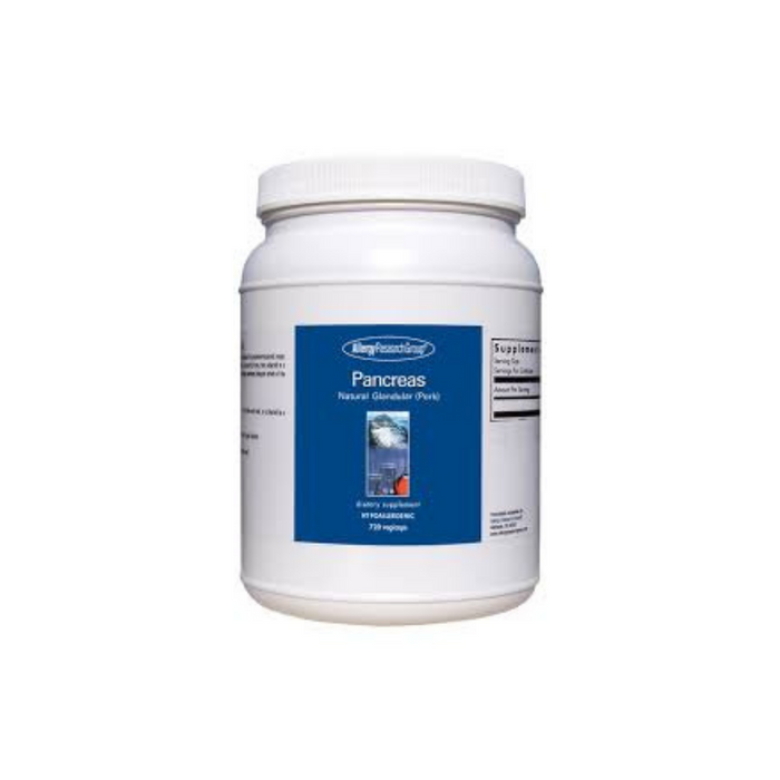 Pancreas Pork Natural Glandular 720 capsules by Allergy Research Group