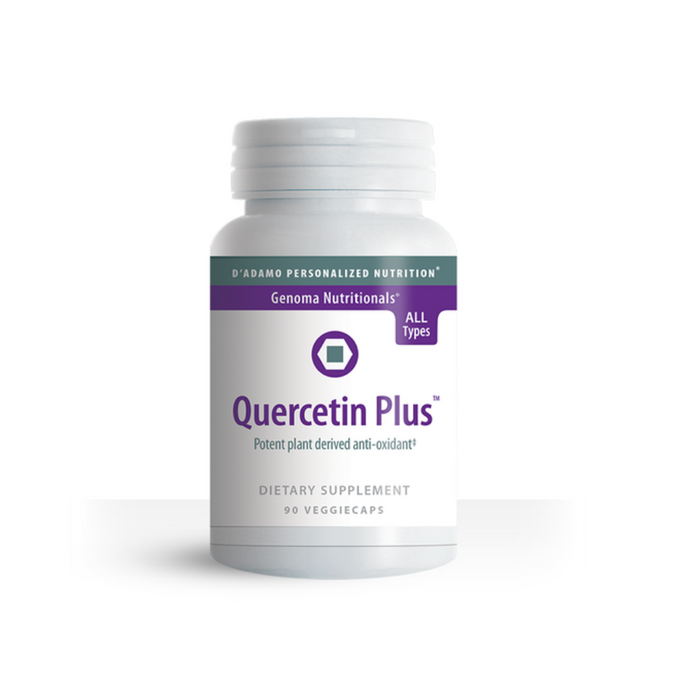 Quercetin Plus 90 vegetarian capsules by D'Adamo Personalized Nutrition