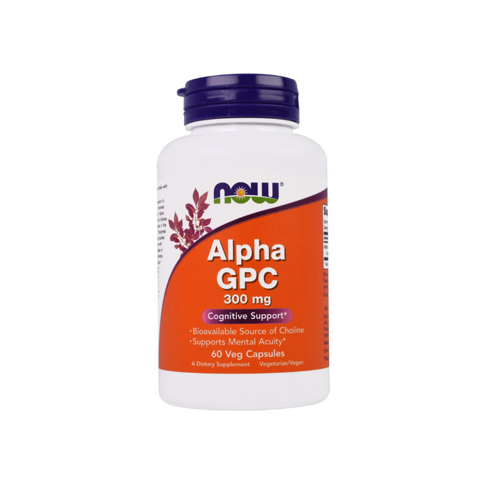 Alpha GPC 60 vegetarian capsules by NOW Foods