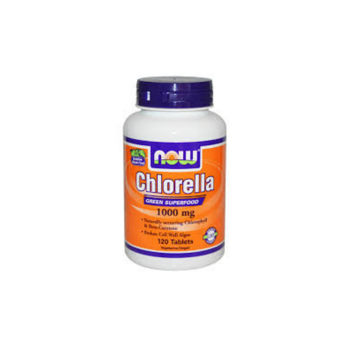 Chlorella 1000 mg 120 tablets by NOW Foods